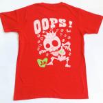 スケルトン RED Tシャツ(背面)
