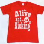 スケルトン RED Tシャツ(胸面)