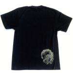 龍 Black Tシャツ(背面)