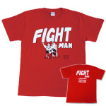 FIGHT MAN Tシャツ RED