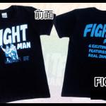 FIGHT MAN Tシャツ Black