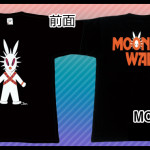 Moon Wars Black Tシャツ