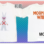 MOON WARS WHITE Tシャツ