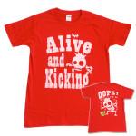 スケルトン RED Tシャツ