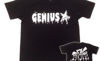 Genius「ブラック」Tシャツ