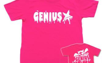 Genius「トロピカルピンク」Tシャツ