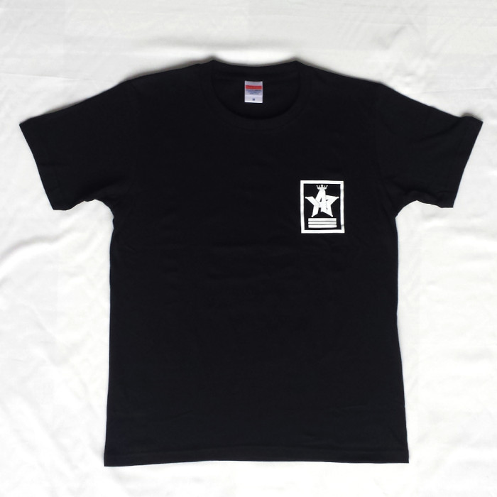 Crown Star「ブラック」Tシャツ(背面)