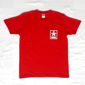 Crown Star「レッド」Tシャツ(胸面)