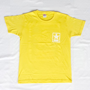Crown Star「イエロー」Tシャツ(胸面)