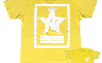 Crown Star「イエロー」Tシャツ